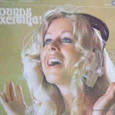 Discos de vinilo: SOUNDS EXCITING! - PHASE 4 STEREO LP 1976 / DECCA. Lote 54649637