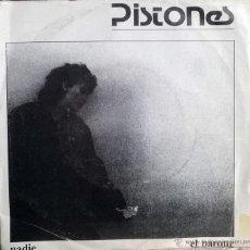 Discos de vinilo: PISTONES. NADIE/ EL PARQUE. MR-ARIOLA, ESP. 1983 SINGLE. Lote 54652793