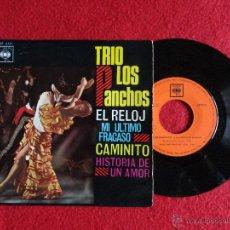 Discos de vinilo: TRIO LOS PANCHOS - EL RELOJ + 3 CANCIONES // EP // 1966 // A ESTRENAR. Lote 54653426
