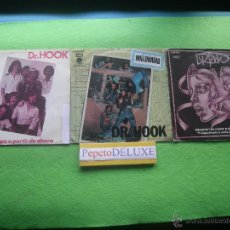 Discos de vinilo: DR.HOOK (3 SG ) YEARS FROM / MILLONARIO / SHAR 1975 PDELUXE . Lote 54655783