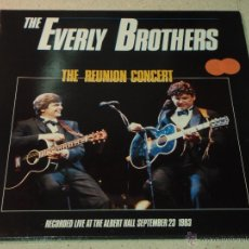 Discos de vinilo: THE EVERLY BROTHERS ?– THE REUNION CONCERT, EUROPE 1985 2XLP MERCURY. Lote 54657257