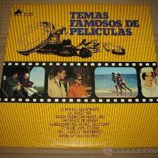 Discos de vinilo: TEMAS FAMOSOS DE PELICULAS. Lote 54659267