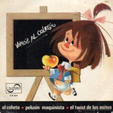 Discos de vinilo: LOS CHAVILITOS - VAMOS AL COLEGIO - EP.. Lote 54662343