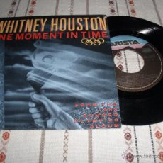 Discos de vinilo: WHITNEY HOUSTON - ONE MOMENT IN TIME. Lote 54666943