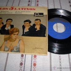 Discos de vinilo: SINGLE DE LOS 5 LATINOS-ENAMORADA. Lote 54667164