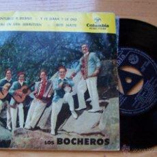Discos de vinilo: LOS BOCHEROS (BILBAINADAS) DE SANTURCE A BILBAO/ Y LE DABA Y LE DIO/ BETI MAITE.... Lote 54667262