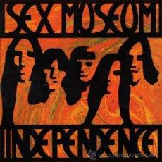 Discos de vinilo: LP SEX MUSEUM INDEPENDENCE VINILO + CD GARAGE 30TH ANNIVERSARY LTD. Lote 205830336