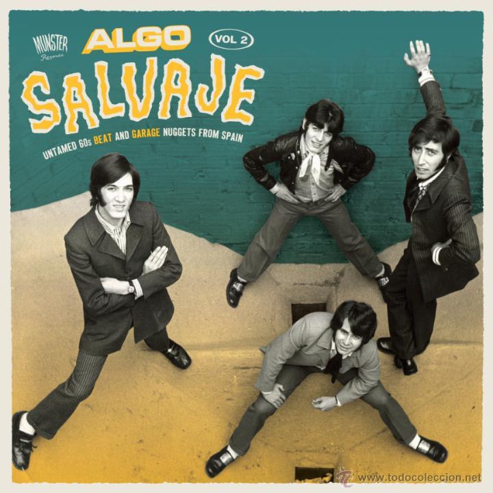 2LP ALGO SALVAJE 2 SPANISH FREAKBEAT NUGGETS GARAGE VINYL ARCHIDUQUES GRITOS IBEROS Z-66 (Música - Discos - LP Vinilo - Grupos Españoles 50 y 60)