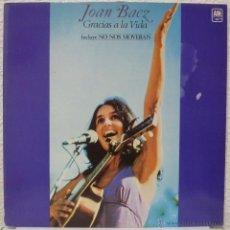 Discos de vinilo: JOAN BAEZ - GRACIAS A LA VIDA (LP A&M 1983) . Lote 54672731