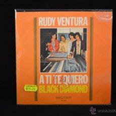 Dischi in vinile: RUDY VENTURA / BLACK DIAMOND - SINGLE. Lote 54675596