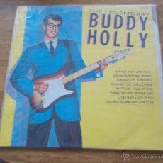Discos de vinilo: THE LEGENDARY BUDDY HOLLY. Lote 54675926