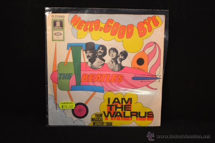 THE BEATLES - HELLO GOODBYE / I AM THE WALRUS - SINGLE EDICION ALEMANA (Música - Discos - Singles Vinilo - Pop - Rock Extranjero de los 50 y 60)