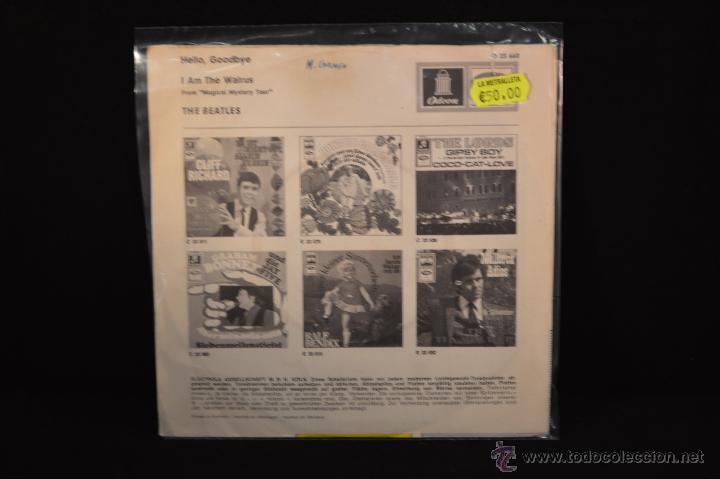 Discos de vinilo: THE BEATLES - HELLO GOODBYE / I AM THE WALRUS - SINGLE EDICION ALEMANA - Foto 2 - 54676422