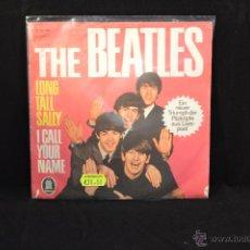 Discos de vinilo: THE BEATLES - LONG TALL SALLY / I CALL YOUR NAME - SINGLE EDICION ALEMANA. Lote 54676548