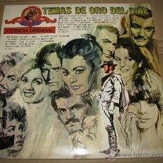Discos de vinilo: TEMAS DE ORO DEL CINE (2 DISCOS). Lote 54677777