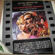 Discos de vinilo: LES PLUS CÉLÈBRES AIRS DE FILMS (2 DISCOS). Lote 54680552