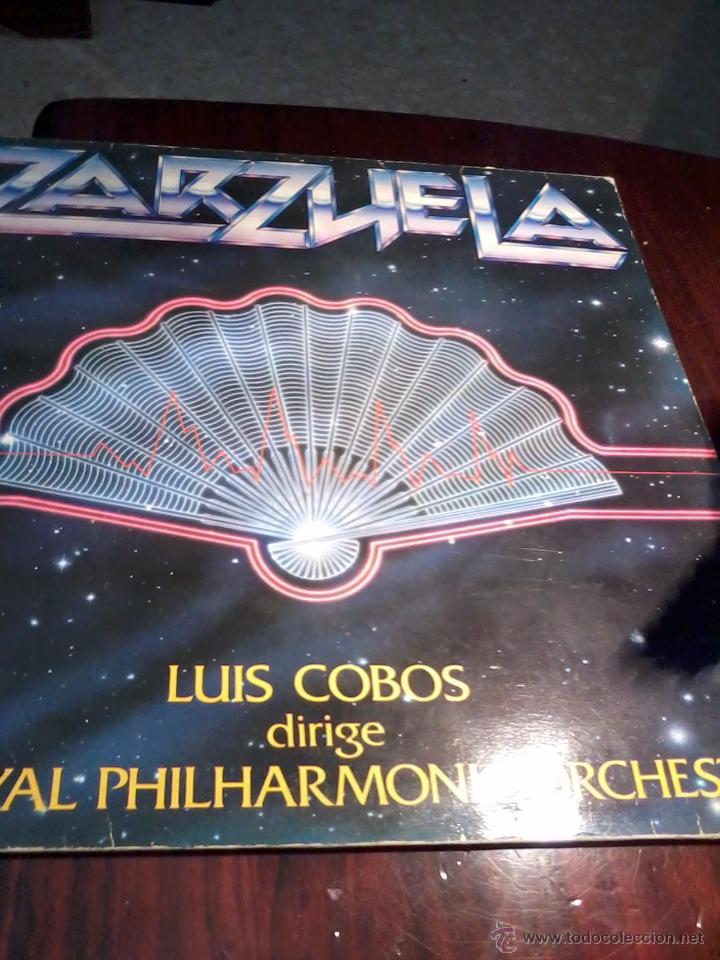 ZARZUELA. LUIS COBOS DIRIGE THE ROYAL PHILHARMONIC ORCHESTRA C3V (Música - Discos - LP Vinilo - Clásica, Ópera, Zarzuela y Marchas)