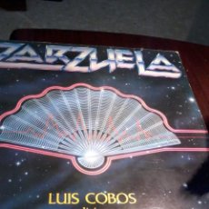 Discos de vinilo: ZARZUELA. LUIS COBOS DIRIGE THE ROYAL PHILHARMONIC ORCHESTRA C3V. Lote 54686095