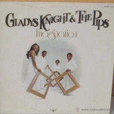 Discos de vinilo: GLADYS KNIGHT & THE PIPS - IMAGINATION BUDDAH - 1973. Lote 54690901