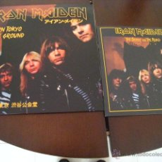 Discos de vinilo: IRON MAIDEN - 3 LP - BURN TOKYO TO THE GROUND - THE NUMBER OF THE BEAST - 150 COPIAS. Lote 54691038