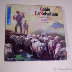 Discos de vinilo: EP COBLA LA SELVATANA (VISCA LA PEPA / ANIMA ENDINS / VIGATANA / MIMOSA) BELTER-1961. Lote 54691060