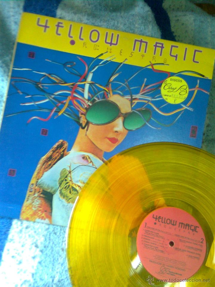 YELLOW MAGIC ORCHESTRA, THE- REHESTRA (ALFA-HORIZON,1979) EDICIÓN USA ORIGINAL VINILO AMARILLO -RARO (Música - Discos - LP Vinilo - Pop - Rock - New Wave Extranjero de los 80)