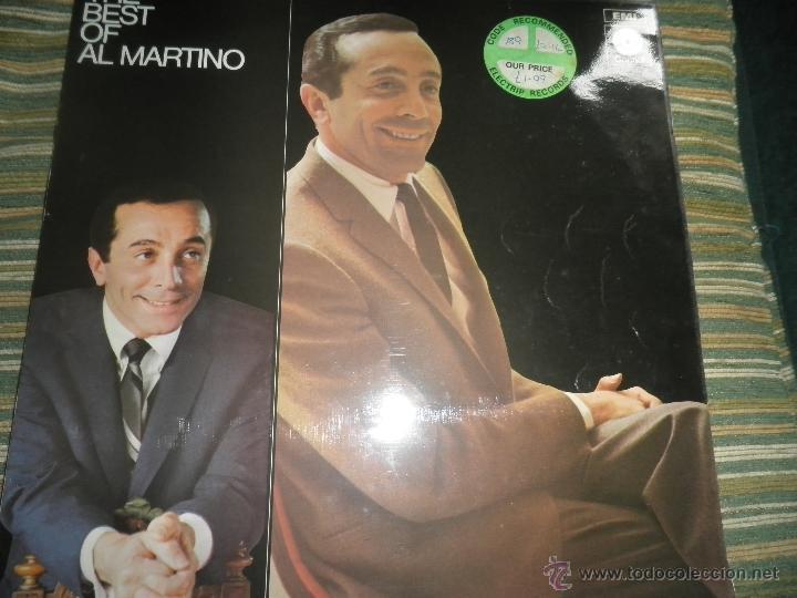AL MARTINO - THE BEST OF AL MARTINO LP - ORIGINAL INGLES - CAPITOL RECORDS 1970 - (Música - Discos - LP Vinilo - Pop - Rock Extranjero de los 50 y 60)