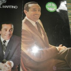 Discos de vinilo: AL MARTINO - THE BEST OF AL MARTINO LP - ORIGINAL INGLES - CAPITOL RECORDS 1970 -. Lote 54693562