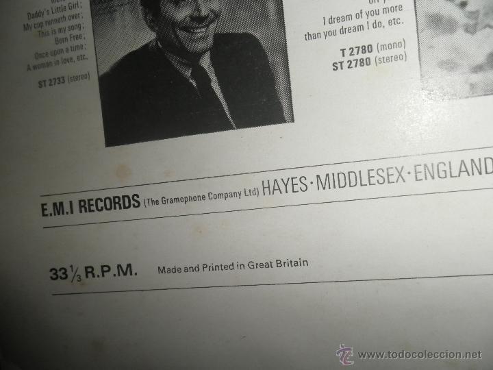Discos de vinilo: AL MARTINO - THE BEST OF AL MARTINO LP - ORIGINAL INGLES - CAPITOL RECORDS 1970 - - Foto 4 - 54693562
