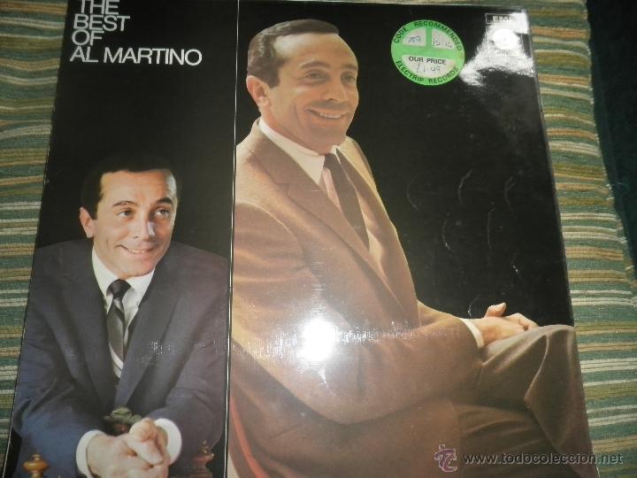 Discos de vinilo: AL MARTINO - THE BEST OF AL MARTINO LP - ORIGINAL INGLES - CAPITOL RECORDS 1970 - - Foto 16 - 54693562