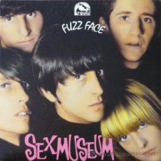 Discos de vinilo: LP SEX MUSEUM FUZZ FACE VINYL + CD GARAGE 30TH ANNIVERSARY LTD. Lote 95184480