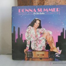 Discos de vinilo: DONNA SUMMER / GREATEST HITS VOL I & II ON THE RADIO. Lote 54696096