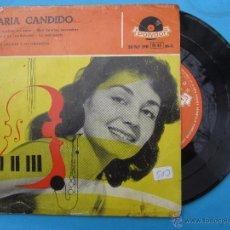 Discos de vinilo: MARIA CANDIDO, 1958. Lote 54698801