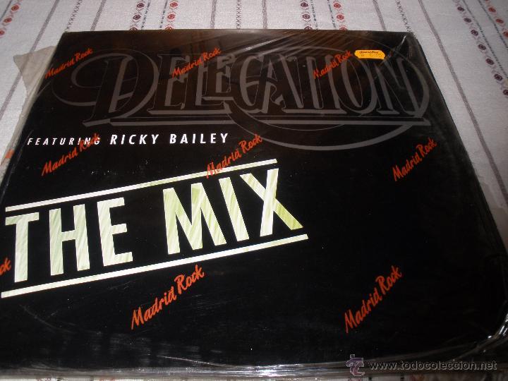 DELEGATION FEATURING RICKY BAILEY (Música - Discos de Vinilo - Maxi Singles - Electrónica, Avantgarde y Experimental)