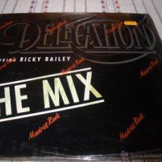 Discos de vinilo: DELEGATION FEATURING RICKY BAILEY. Lote 54704946