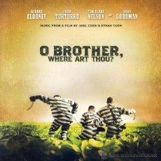 Discos de vinilo: O BROTHER, WHERE ART THOU? 2 LP BSO ALISON KRAUSS, EMMYLOU HARRIS...COUNTRY FOLK. Lote 54707716