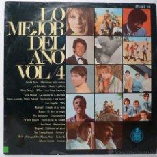 Discos de vinilo: LO MEJOR DEL AÑO VOL. 4. Lote 54708768