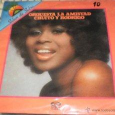 Discos de vinilo: ORQUESTA LA AMISTAD LP CHUITO Y RODRIGO.ESPAÑA MOVIEPLAY.1981. Lote 195387493