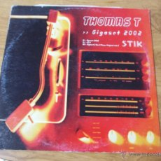 Discos de vinilo: THOMAS T. GIGASET 2002 MAXI 12 . Lote 54710808