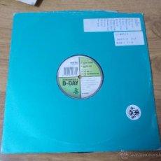 Discos de vinilo: SYNCRONIZER II D-DAY MAXI 12 . Lote 54710875