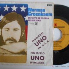 Discos de vinilo: NORMAN GREENBAUM-SINGLE ESPIRITU EN EL CIELO-1970. Lote 54713182