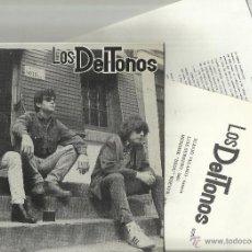 Dischi in vinile: LOS DEL TONOS EP ME GUSTAS + 3. 1989 CON HOJAS PROMO. Lote 54714102