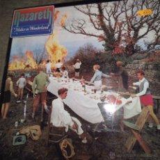 Discos de vinilo: NAZARETH - MALICE IN WONDERLAND. Lote 54719184