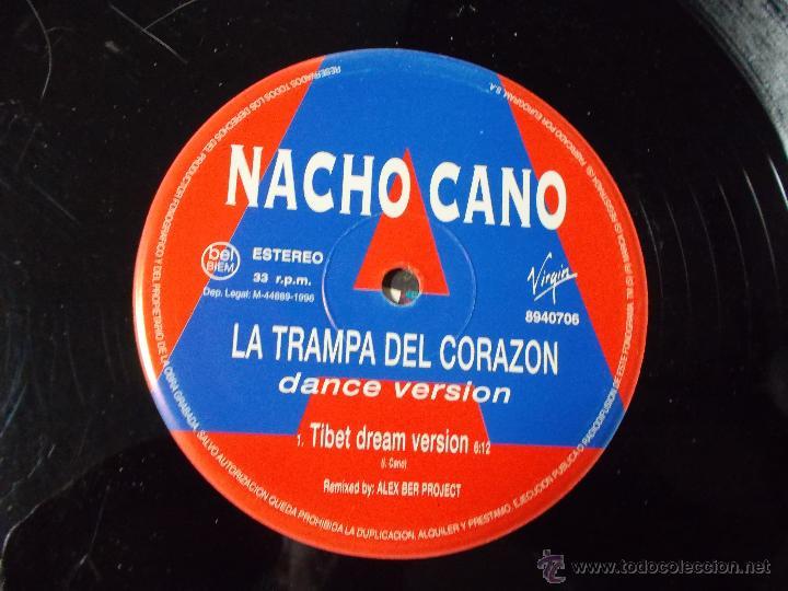 Discos de vinilo: NACHO CANO. LA TRAMPA DEL CORAZON - Foto 2 - 54719698