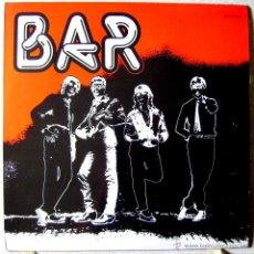 Discos de vinilo: BAR-BAR....MUY RARO...EX+...ROCK VIGO..UNICO TRABAJO. Lote 54720613