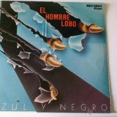 Discos de vinilo: AZUL Y NEGRO - EL HOMBRE LOBO - SUNNY DAY - MERCURY 1984. Lote 54721786