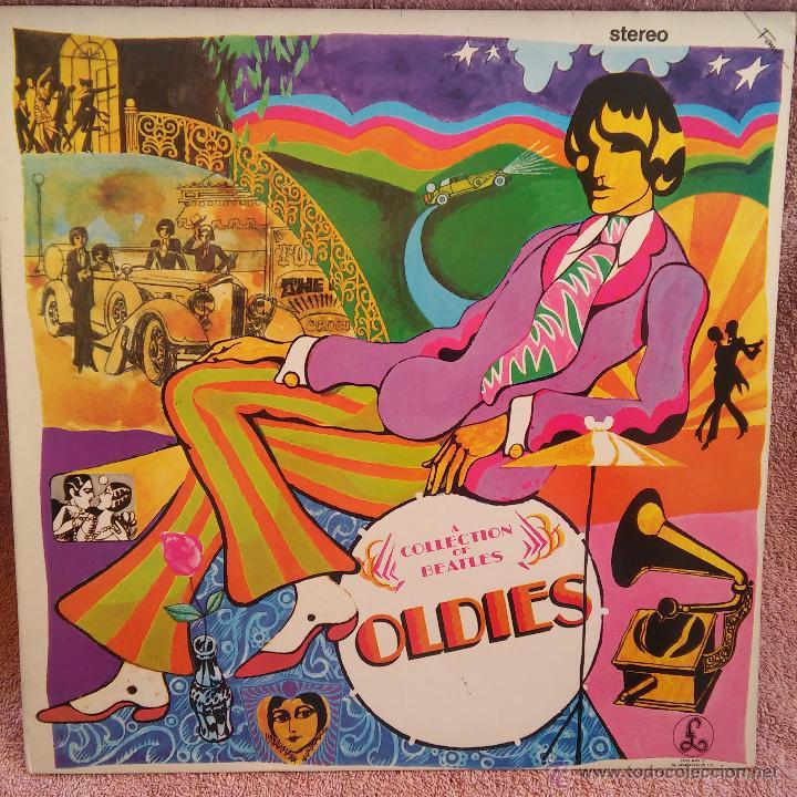 DISCO LP THE BEATLES A COLLECTION OF BEATLE1967 LONG PLAY 33 R.P.M ORIGINAL U.K. (Música - Discos - LP Vinilo - Pop - Rock Extranjero de los 50 y 60)
