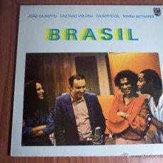 Discos de vinilo: LP BRASIL - JOAO GILBERTO - CAETANO VELOSO GILBERTO GIL - MARIA BETHANIA (PHILIPS-1982. Lote 102743268