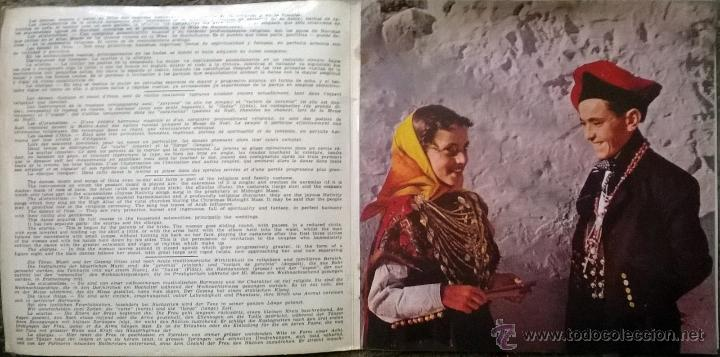 Discos de vinilo: Escuadra de Sonadors. Ibiza y su folklore. Cantops y danzas. Belter 1962 ep doble cubierta + encarte - Foto 3 - 54726145