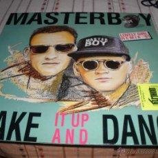 Discos de vinilo: MASTERBOY ?SHAKE. Lote 58768071